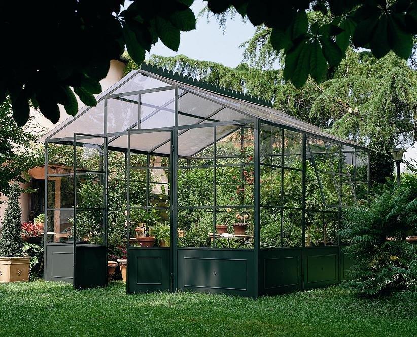 Projet mini serre iv pr sentation d une serre de jardin for Monter une serre de jardin